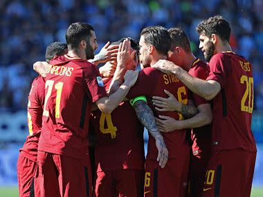 Roma warmed up for next week's Champions League clash with Liverpool by easing past SPAL 3-0 and keep their push for elite European football next season on track.