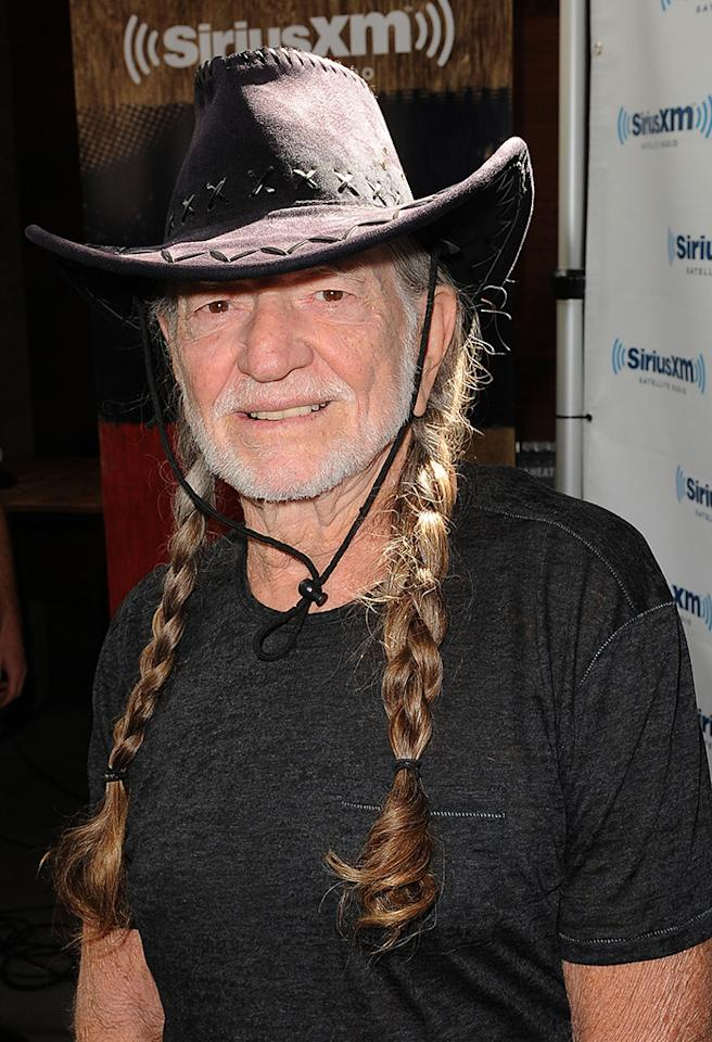 "Willie Nelson may be nearly 80 years old, but the country legend still loves his weed and last fall released a book appropriately titled ""Roll Me Up and Smoke Me When I Die,"" in which pot makes appearances in multiple chapters. His hobby has even gained him a new friend and recording partner: Snoop Dogg. ""You know, me and Snoop smoke a lot,"" Nelson, who  serves as an advisory board member for marijuana legalization advocacy group NORML, told Piers Morgan last year. ""I was in Amsterdam one time and Snoop called me and wanted me to sing on his record. And I said, 'OK.' He said, 'Where are you?' And I said, 'I'm in Amsterdam.' So he caught the next plane and come over. And we recorded a song together."""