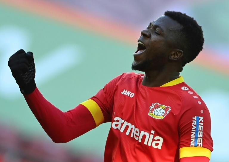 Leverkusen defender Edmond Tapsoba rescues a point with a late equaliser