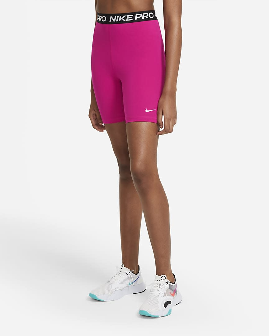 Nike Pro 365 Women's High-Rise Shorts. Image via Nike.