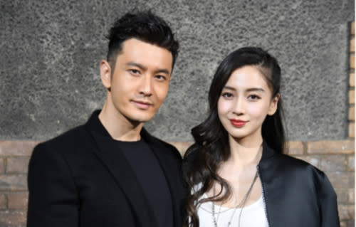 Huang Xiaoming  and Angelababy tied the knot in 2015, and they have a son