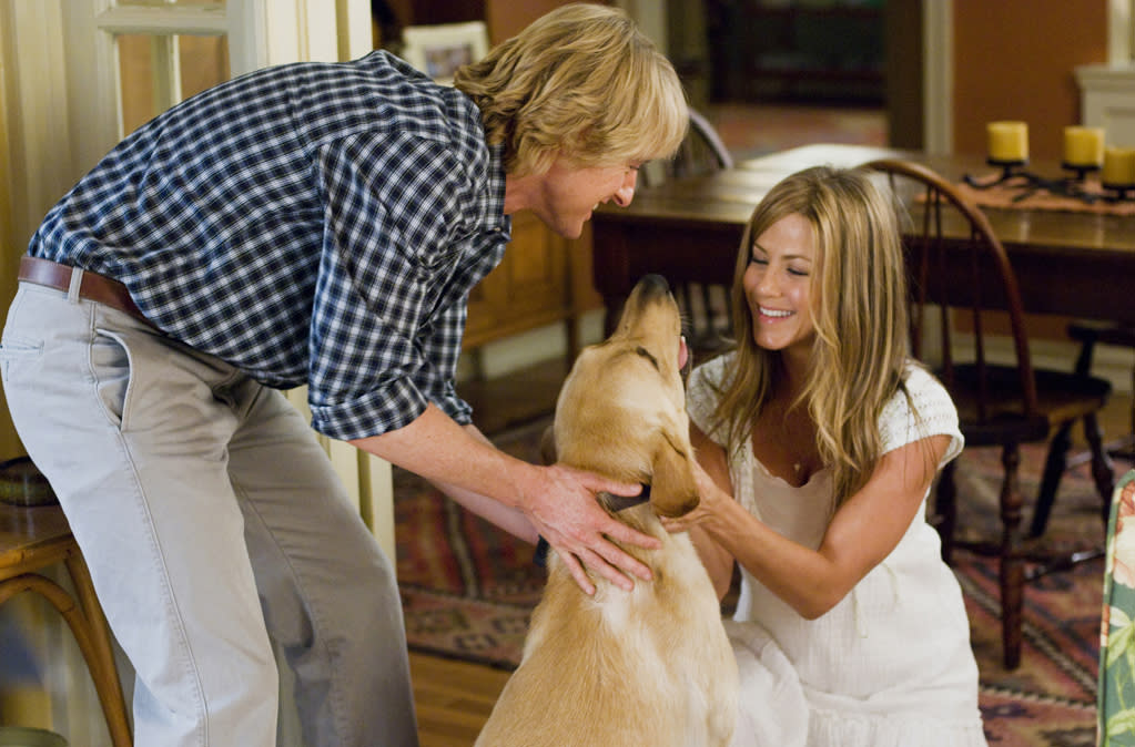 """<p class=""""MsoNormal"""">9. Marley (""""Marley & Me"""") <br> While it would be difficult to give an Oscar to all 22 dogs who played Marley, it's hard to beat the raw emotion the composite character was able to deliver. Not to mention, going toe-toe with Jennifer Aniston without over-slobbering is no easy task. </p>"""