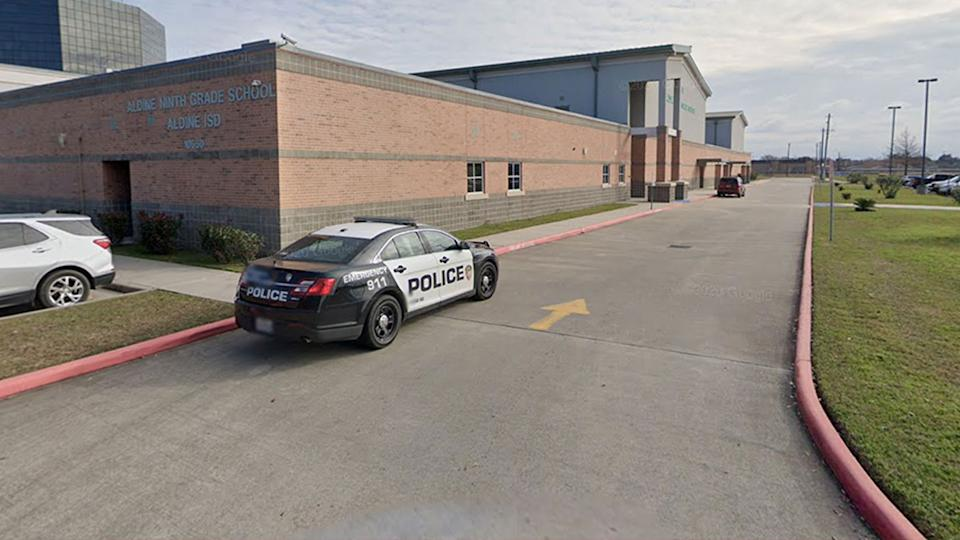 Pictured is a Google Maps image of Aldine Ninth Grade School.