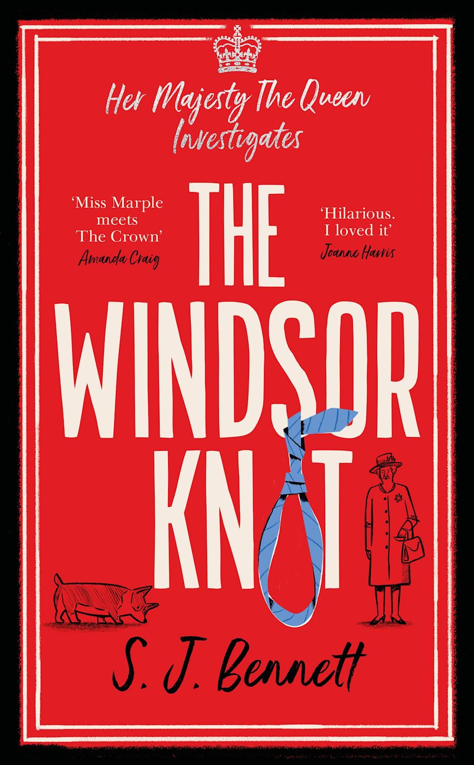 The Windsor Knot by SJ Bennett imagines the Queen as a detective. (Zaffre)