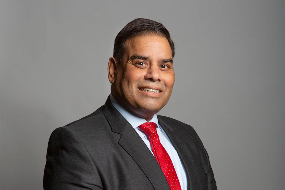<p>Stepping down: The Labour MP for Birmingham Perry Barr, Khalid Mahmood</p> (UK Parliament)