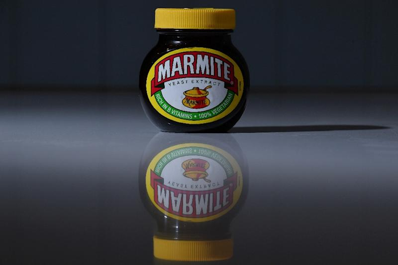 Marmite was yanked from supermarket shelves in Britain over a price dispute as the pound plunged (AFP Photo/Ben Stansall)
