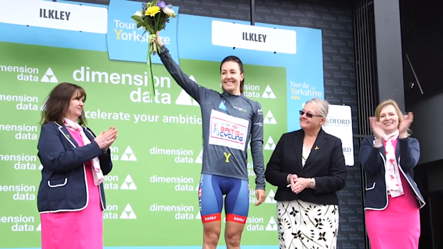 Rowe finished as the leading Brit and second overall in the general classification