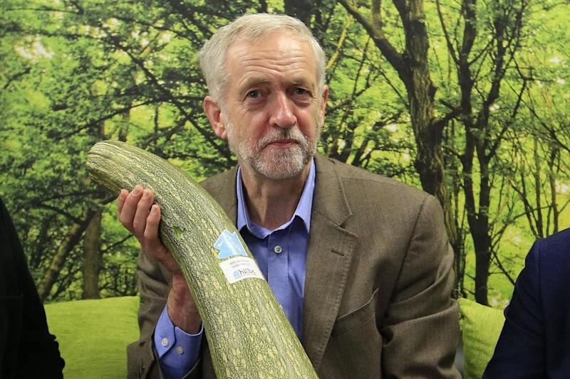 Vegetarian: Labour leader Jeremy Corbyn has said he wants to eat more vegan food: PA Archive/PA Images