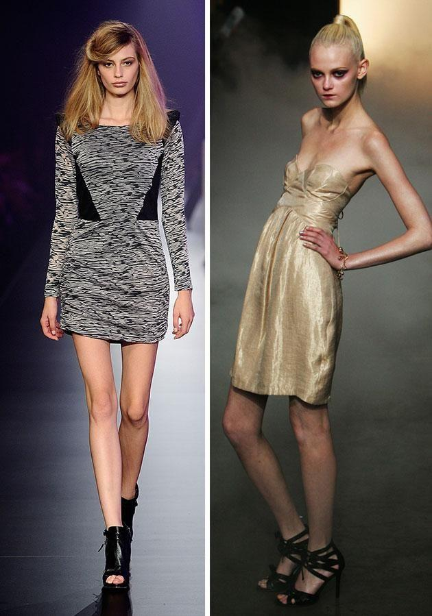 The modelling industry is constantly being criticised for glorifying extremely thin bodies. Photo: Getty