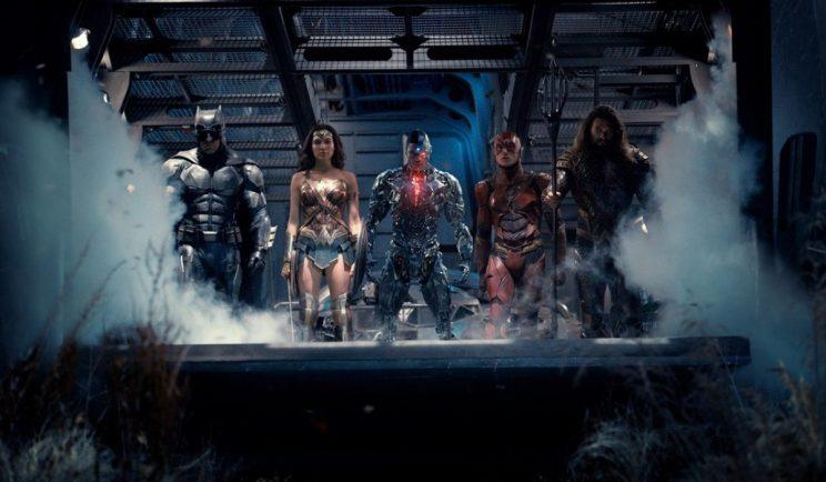 The Justice League unites in awesome new poster