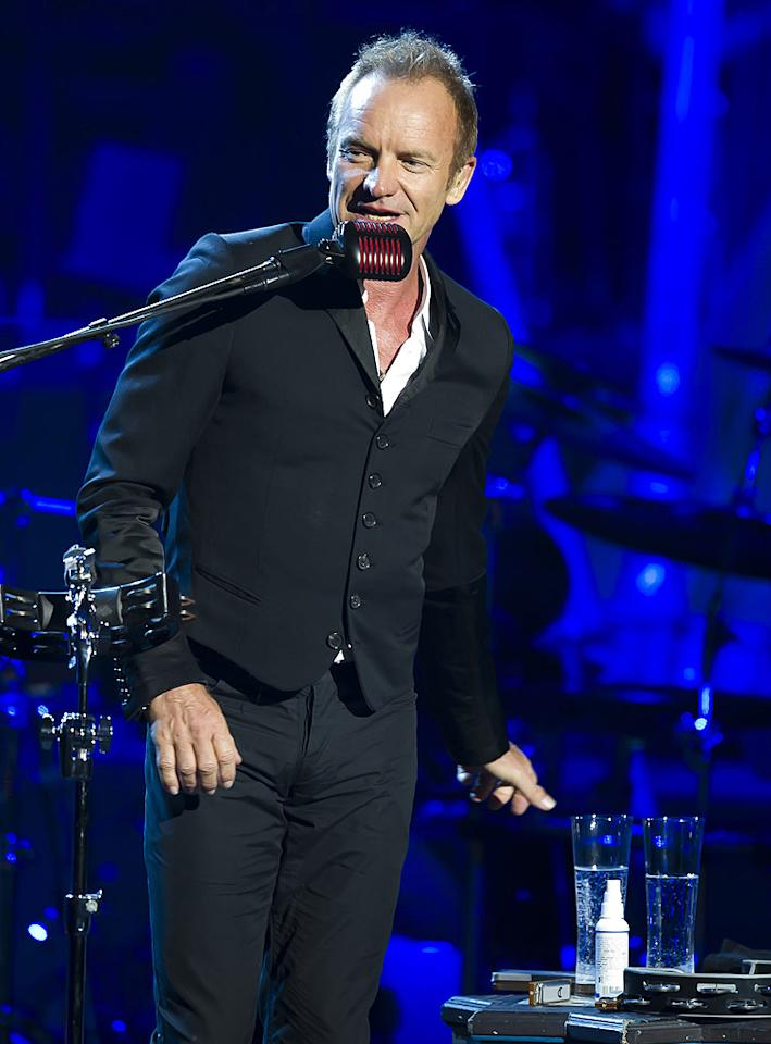 "October 2: Sting turns 59 Nigel Waldron/<a href=""http://www.gettyimages.com/"" target=""new"">GettyImages.com</a> - September 3, 2010"