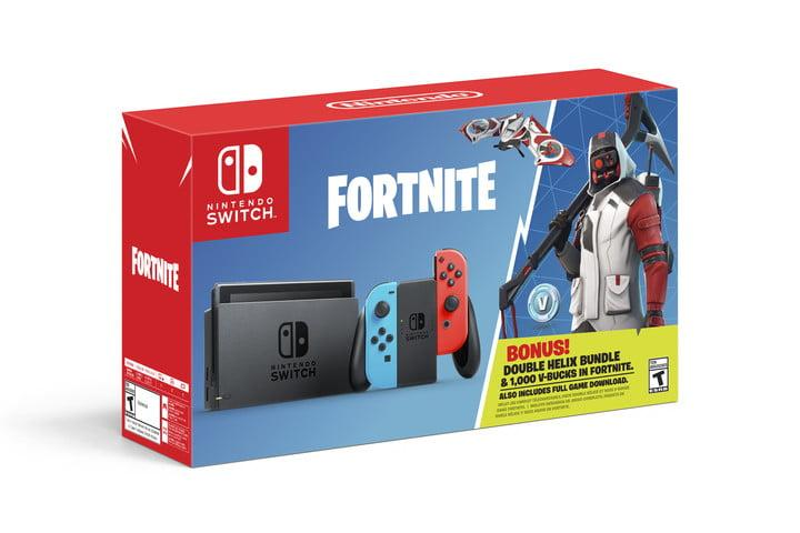 Get A Double Helix Set And 1000 V Bucks With Nintendo Switch S