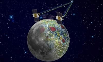 Nasa Probes Ebb And Flow To Crash Into Moon
