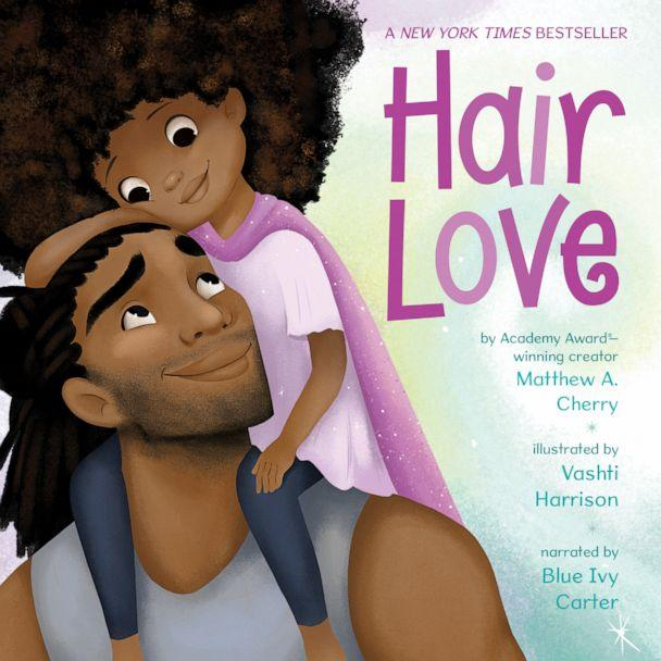 PHOTO: Blue Ivy Carter narrated the audio book version of 'Hair Love,' by Matthew A. Cherry. (Dreamscape Media)