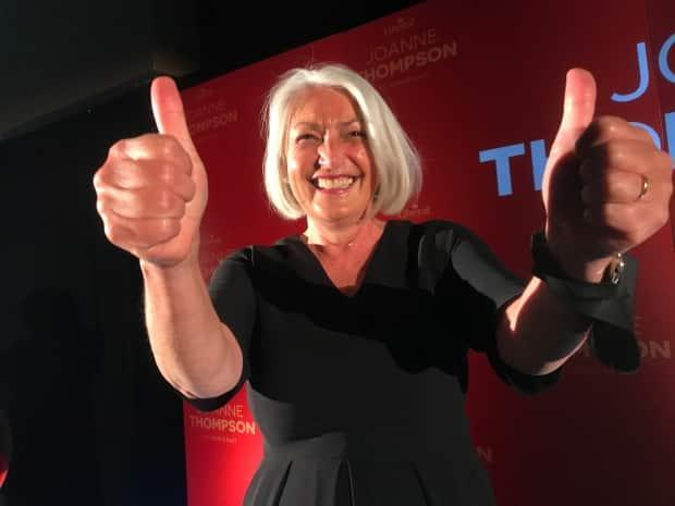 Liberal candidate Joanne Thompson has won the St. John's East, replacing outgoing NDP member of Parliament Jack Harris. (Terry Roberts/CBC - image credit)