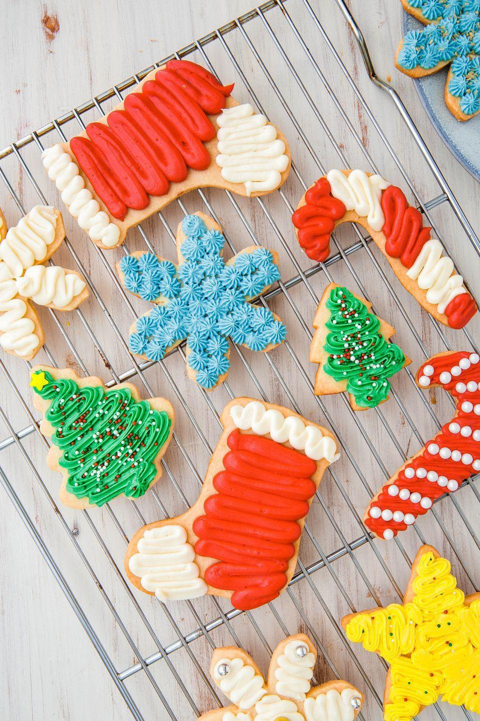 "<p>It doesn't get much more festive than this!</p><p>Get the recipe from <a href=""https://www.delish.com/cooking/recipe-ideas/recipes/a50502/basic-sugar-cookies-recipe/"" rel=""nofollow noopener"" target=""_blank"" data-ylk=""slk:Delish"" class=""link rapid-noclick-resp"">Delish</a>. </p>"
