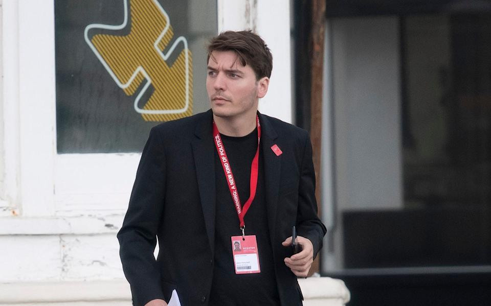 James Schneider, Jeremy Corbyn's media man - The Telegraph/Christopher Pledger