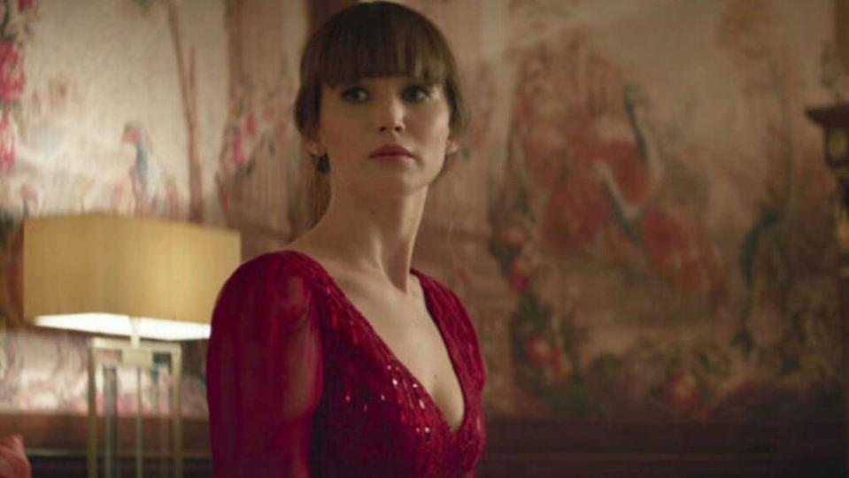 You can see why some people might have complained about Red Sparrow, though.