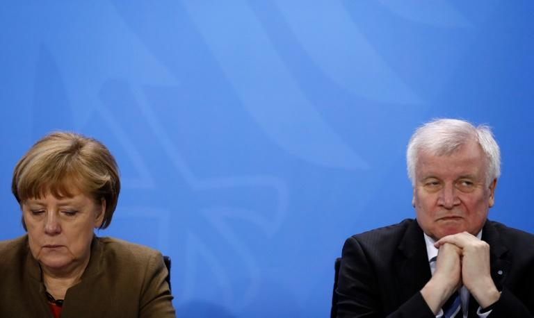 "Seehofer has complained that he had endured a ""conversation with no effect"" with Merkel about the EU summit results"