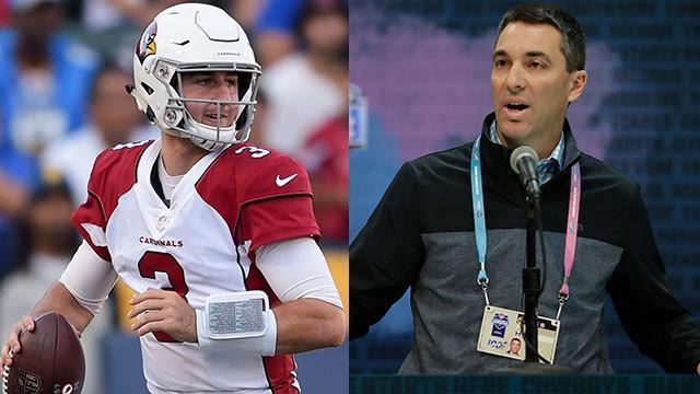 NFL Network's Michael Silver reports that the Los Angeles Chargers are potential suitors for Arizona Cardinals quarterback Josh Rosen.