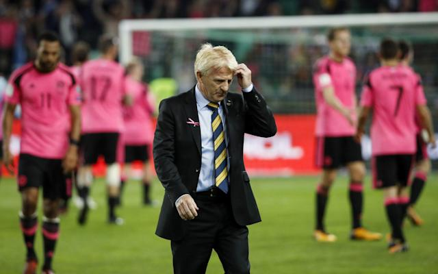 """Whoever is installed as the next Scotland manager – and David Moyes is still favourite with most bookmakers – his priority will be making headway in the inaugural Uefa Nations League, according to SFA chief executive Stewart Regan. The format of the tournament is abstruse but it feeds into the next European Championship, for which Hampden Park will be a host venue, hence its importance – especially after Scotland's failure to make the World Cup play-offs. """"There are Euro 2020 places linked to the Nations League and each of the four leagues, and Scotland are top seeds in Group C, the third tier,"""" said Regan. """"One team from that third tier will come through to Euro 2020. """"We've got two chances, so those Nations games will be really important. We won't go into them thinking they are friendly matches. They are absolutely essential for us to have a second chance of making the tournament. """"We're entering an interesting phase, starting in 2018, because of the new competition formats and the way that the Nations League works, followed by the qualifiers, followed by the Nations League. Scotland failed to qualify for the World Cup Credit: AP """"It potentially produces a situation when you'll have feast and famine years. In the Nations League we'll be playing matches on friendly dates in a new competitive format against teams of a similar standard. The potential is the attendances might not be as great as they would be if you were playing a glamour side like Germany or Spain, or one of the big six. """"That's got the potential to have an impact on revenue streams. In terms of the most recent times, it would have been great to do a Wales or a Northern Ireland. I think in Wales' case they brought in €18 million from reaching the semi-finals of the Euros. """"Probably half of that in the case of Northern Ireland. But we are where we are and have our own resources, supplemented by income from Fifa and Uefa, as well as the public sector. We do what we feel is the right thing to develop the"""