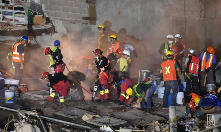 "Mexico City building inspector Sergio Lopez says that the buildings that fell ""either were built before 1985, or, honestly, were poorly built"""