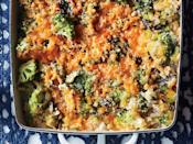 """<p>This fresher take on the <a href=""""https://www.myrecipes.com/casserole-recipes"""" rel=""""nofollow noopener"""" target=""""_blank"""" data-ylk=""""slk:traditional casserole"""" class=""""link rapid-noclick-resp"""">traditional casserole</a> is loaded with vegetables and comes together with a homemade sauce instead of sodium-heavy canned soup.</p>"""