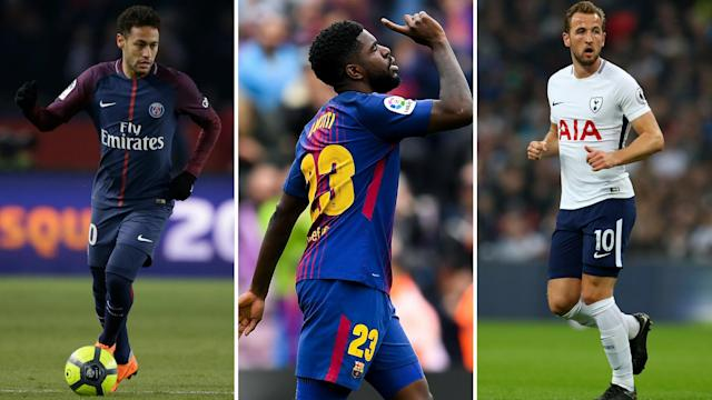 Gossip: Neymar will join Man Utd 'if they sign Kane and Umtiti', Arsenal and Liverpool 'get Lemar boost'