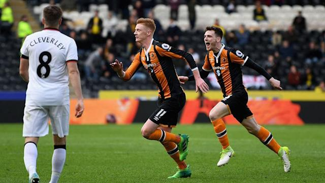<p>The weekend kicked off with the Premier League's relegation battle. Middlesbrough got mercilessly thumped at Bournemouth, and Sunderland are so far adrift they may as well be on Mars.</p> <br><p>Hull and Swansea are each battling to avoid that final relegation place. Both of them won this weekend - Hull even did it with ten men against Watford - and they seem to have the wind behind them in the run-in. </p> <br><p>Burnley are in potential danger. Hull and Swansea could conceivably win two of their last four games each, meaning the Clarets will need to recapture their impressive home form or face potentially being caught. They're only three points above Hull...</p>