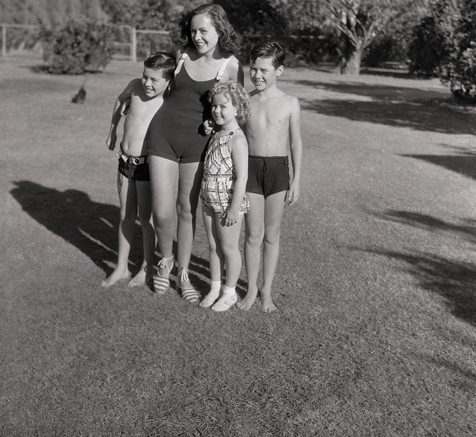 <p>Shirley's childhood in the 1930s consisted of vacationing at Charlie Chaplin's Palm Springs home and playing with his two sons, Charles Jr. and Sydney Chaplin. </p>