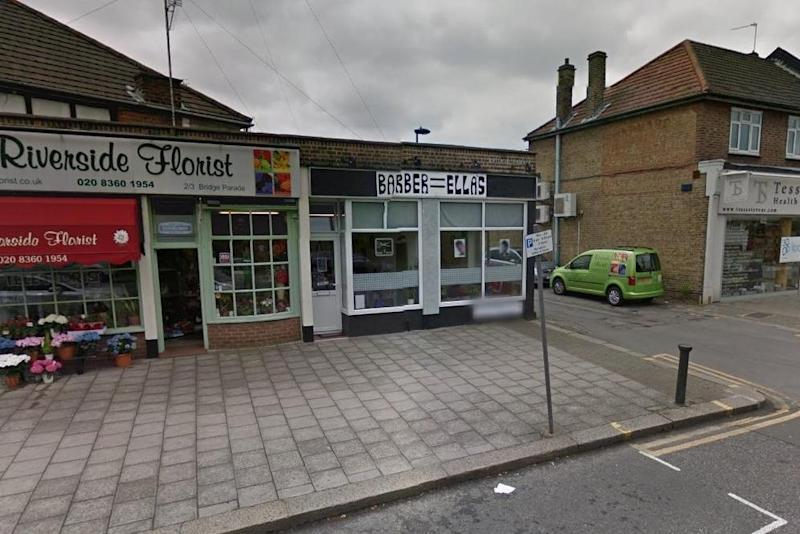 Winchmore Hill: Some of the businesses hit by the effects of the cycle lane. (Google)