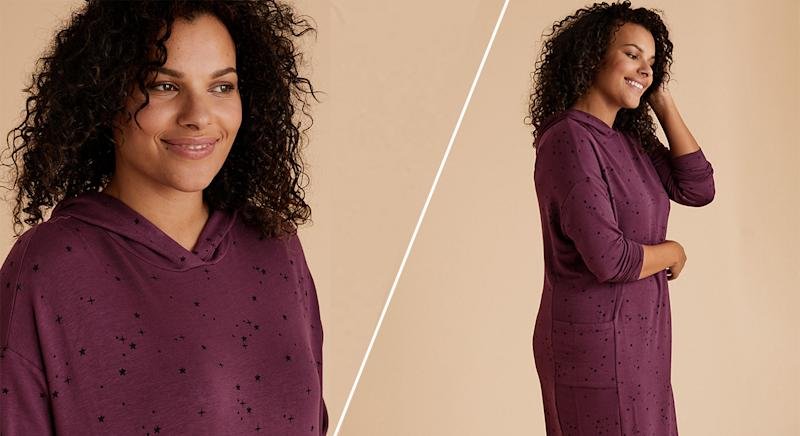 Marks and Spencer has launched a new Flexifit Lounge Dress - and we predict it will sell out fast. (M&S/ Yahoo Style UK)