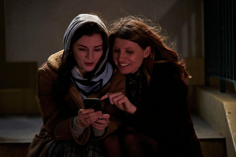 Aisling Bea and Sharon Horgan in This Way UpMerman/Channel 4