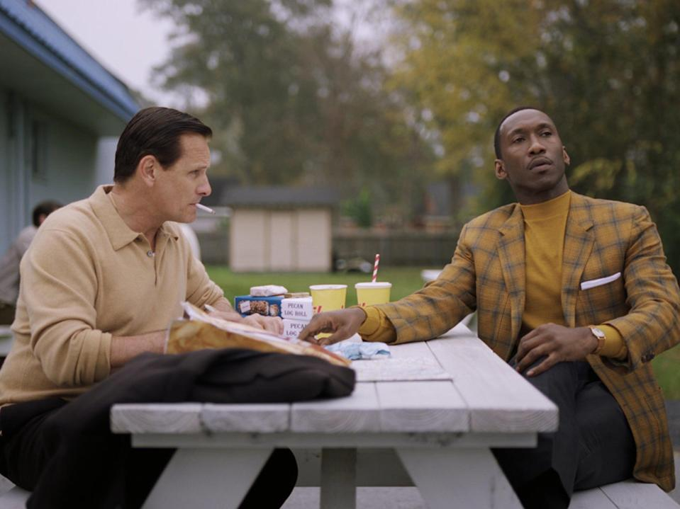 Viggo Mortensen and Mahershala Ali in 'Green Book'Universal/Moviestore/Shutterstock