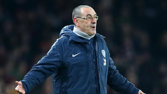 Maurizio Sarri remarkably accused his Chelsea players of failing to motivate themselves for Saturday's London derby loss against Arsenal.