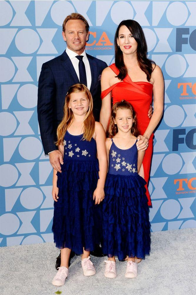 Ian Ziering and Erin Ludwig with their daughters | Jerod Harris/WireImage