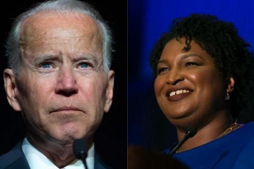 Why Joe Biden would love to declare with Stacey Abrams as his chosen running mate