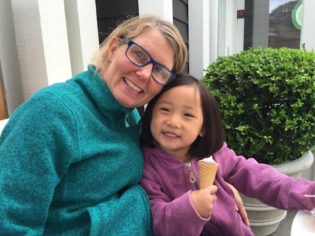 """Kriss described motherhood as """"so freaking hard,"""" but the """"biggest joy"""" she's experienced."""