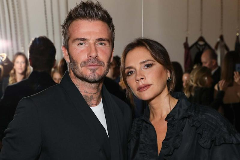 David and Victoria Beckham (WireImage for White Company)