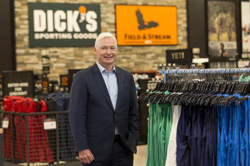 Dick's Sporting Goods restricts some sales amid gun control debate
