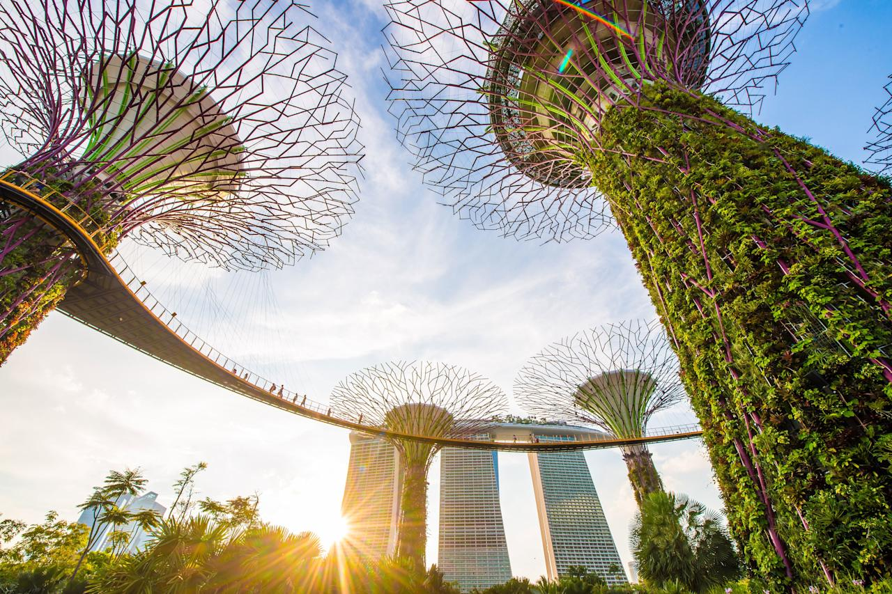 """It may be better known for its food scene than, say, its workout classes, but <a href=""""https://www.cntraveler.com/destinations/singapore?mbid=synd_yahoo_rss"""" target=""""_blank"""">Singapore</a> happens to be one of the healthiest countries in Asia. People here seem to balance their love of <a href=""""https://www.cntraveler.com/gallery/best-hawker-centers-in-singapore?mbid=synd_yahoo_rss"""" target=""""_blank"""">hawker food</a> with active lifestyles—in fact, the government handed out <a href=""""https://www.digitaltrends.com/health-fitness/fitbit-singapore-health-contract-fitness-trackers/"""" target=""""_blank"""">free Fitbits</a> to its citizens in 2019. Even those who fall off the exercise wagon have one of the world's best healthcare systems to fall back on."""