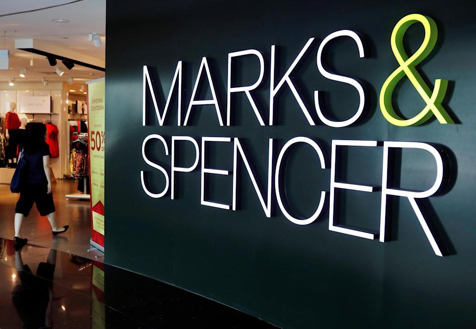A view of a Marks and Spencer shop in Singapore December 14, 2018. Photo: REUTERS/Edgar Su