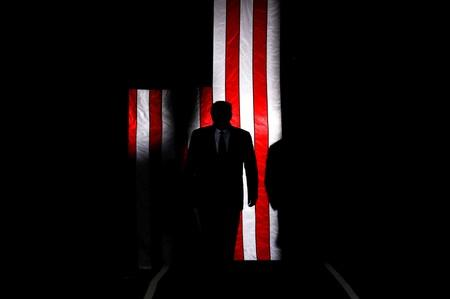 FILE PHOTO: U.S. President Donald Trump hosts a Keep America Great rally at the Santa Ana Star Center in Rio Rancho, New Mexico,