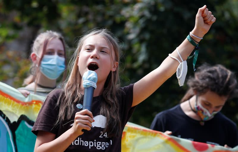 Fridays for Future climate strike in Milan