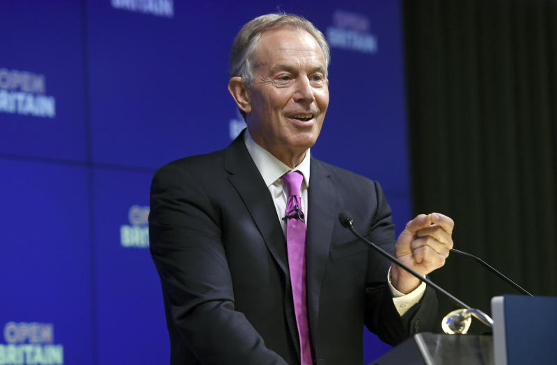 Tony Blair's new mission: To change UK minds on Brexit