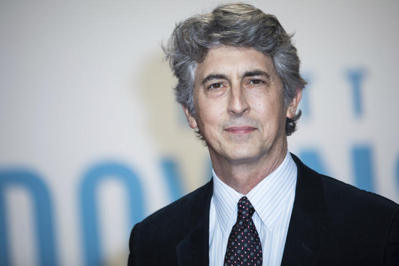 Alexander Payne poses for photographers upon arrival at the premiere of the film 'Downsizing' showing as part of the BFI London Film Festival in London, Fridday, Oct. 13, 2017. (Photo by Vianney Le Caer/Invision/AP)
