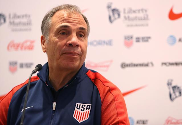 Bruce Arena's focus is on qualifying, but the U.S. is in good shape to qualify for the 2018 World Cup. (Getty)