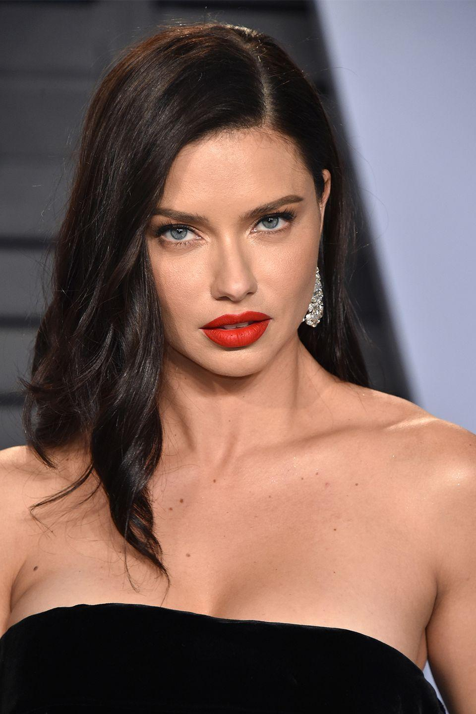 """<p>The Victoria's Secret Angel opened up to <em><a href=""""https://www.gq.com/story/adriana-lima-virgin-underwear-model"""" rel=""""nofollow noopener"""" target=""""_blank"""" data-ylk=""""slk:GQ"""" class=""""link rapid-noclick-resp"""">GQ</a> </em>in 2006 about why she was waiting. """"Sex is for after marriage,"""" adding that her boyfriends """"have to respect that this is my choice."""" And in Adriana's wise, girl-power words: """"If there's no respect, that means they don't want me."""" </p><p>At the time, she was dating NBA star Marko Jarić, whom she married in 2009. Sadly, the two are divorced now. <br></p>"""