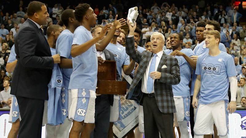 UNC's Roy Williams finds Final Four great medicine for NCAA-sized headache