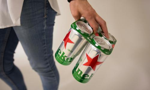 Heineken ditches plastic rings and shrink wrap in eco makeover